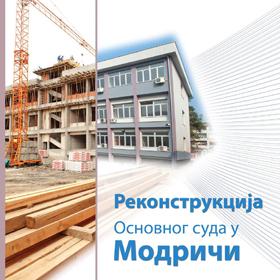 Proces rekonstrukcije zgrade suda